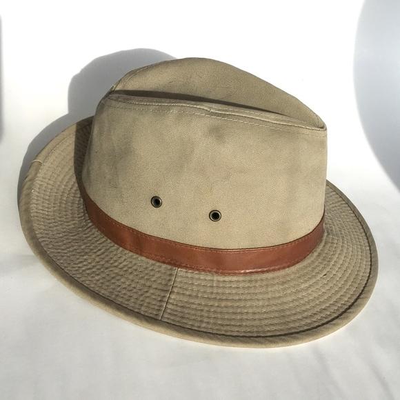 b08e1d7d Dorfman Pacific Other - Scala Classico Safari Hat Khaki Brown Fedora 7 Med